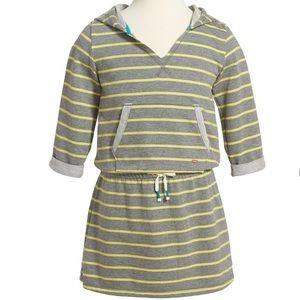 Stripe Hooded Sweatshirt Dress by ROXY